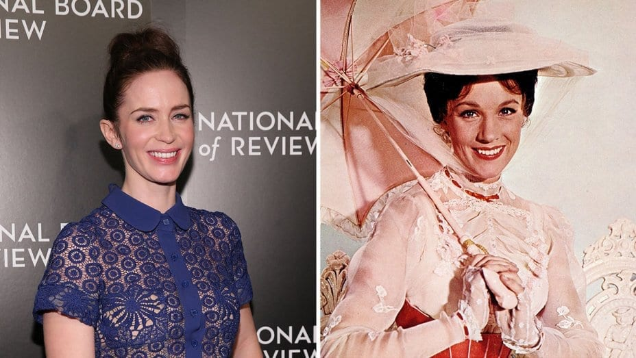 Mary Poppins Returns to Star Emily Blunt