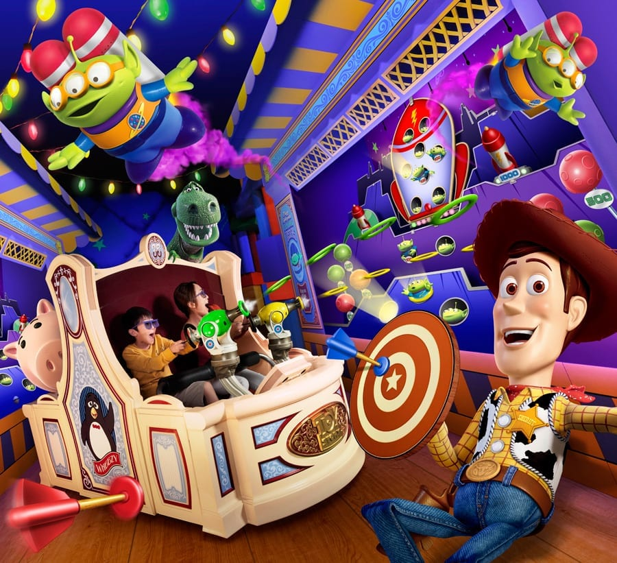 New Soarin and Toy Story Attractions Make their Debut