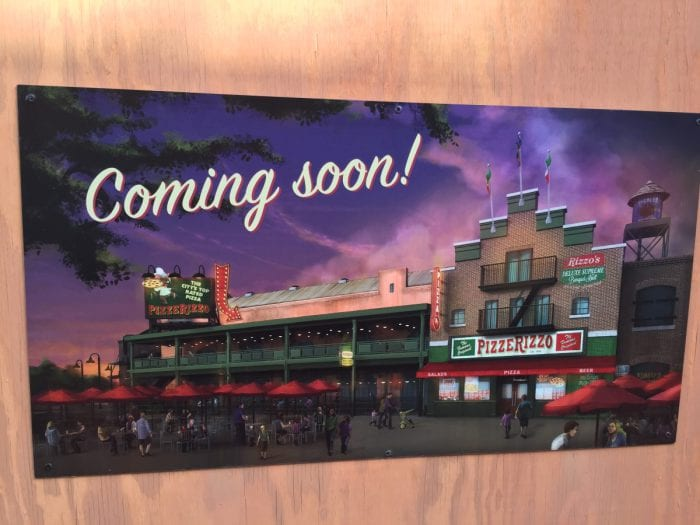 New Concept Art for Muppets Restaurant PizzeRizzo
