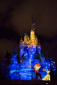 Once Upon a Time Projection Show at Magic Kingdom