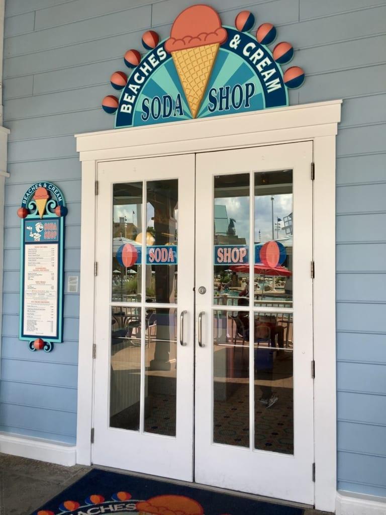 Beaches & Cream Soda Shop Closing Refurbishment