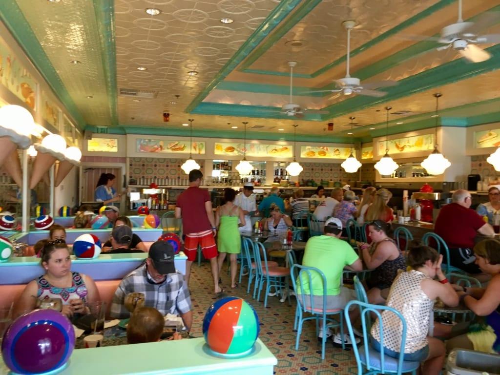Beaches & Cream Soda Shop Closing Refurbishment inside