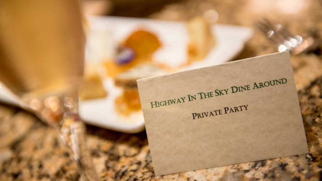 """""""Highway in the Sky Dine Around"""" Dining Experience Coming to Magic Kingdom Loop"""