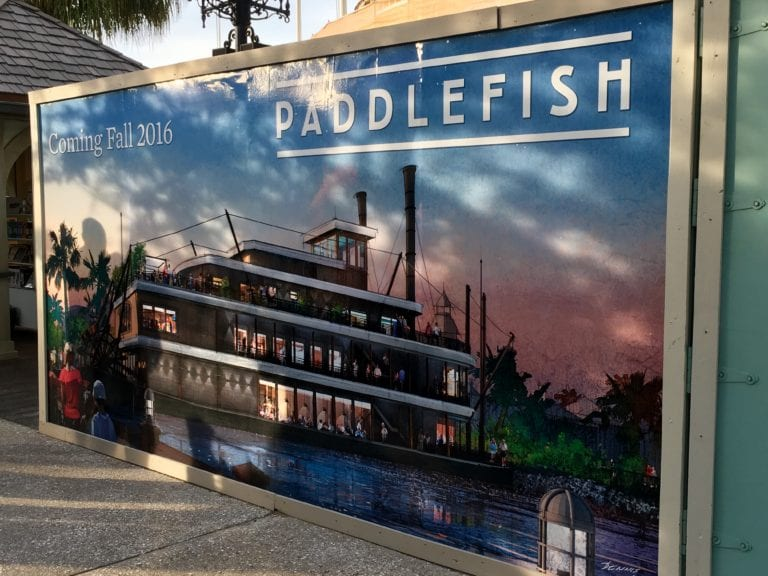 Paddlefish Menu Preview