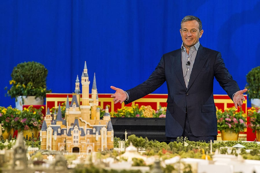 Bob Iger Disney salary cut