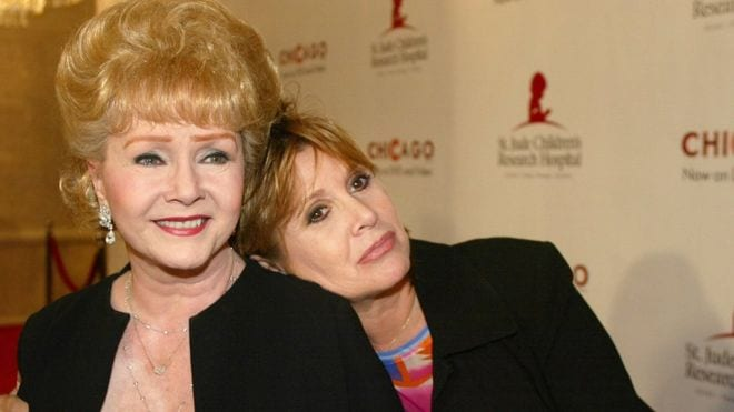 Debbie Reynolds Mother of Carrie Fisher Rushed to Hospital