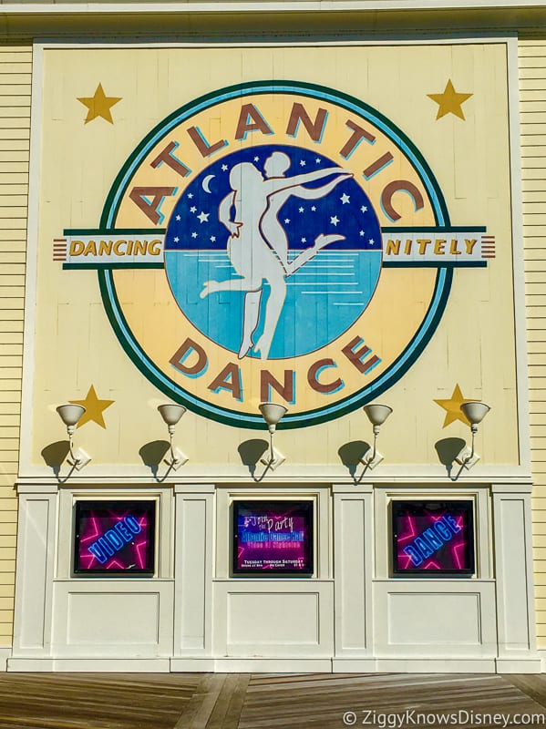 Best Places to Watch Super Bowl in Walt Disney World Atlantic Dance Hall