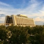 Walt Disney World Contemporary Resort distance