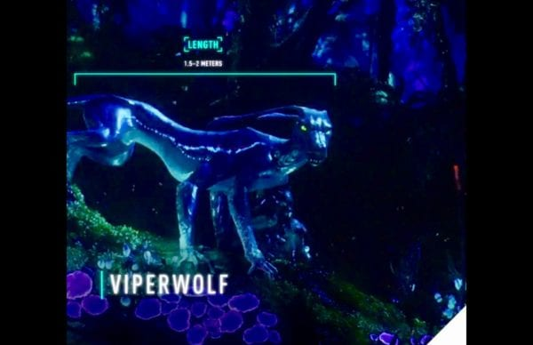 Video: Look at the Pandora Viper Wolf on the Na'vi River Journey