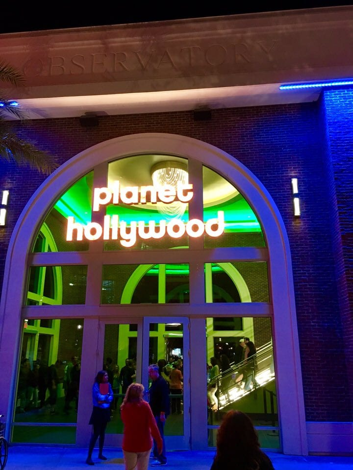 Planet Hollywood Observatory Entrance