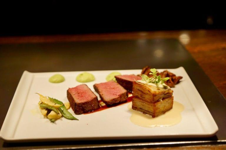 California Grill Full Review SRF Waygu Eye of Ribeye Steak close