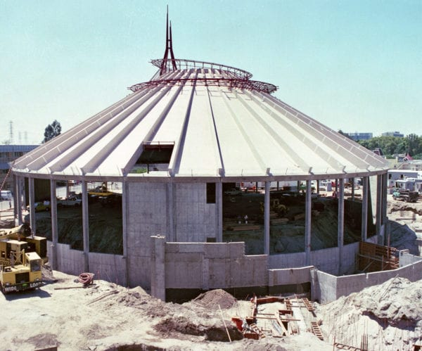 Disneyland Space Mountain 40 Years of Photos