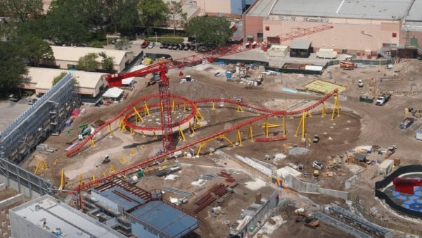 UPDATE: Toy Story Land Slinky Dog Dash Track Installed in Hollywood Studios