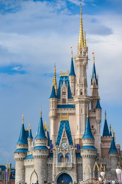 Cinderella Castle in Disney's Magic Kingdom