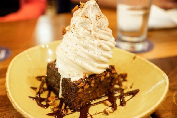 Frontera Cocina Review Pecan Pie Bar
