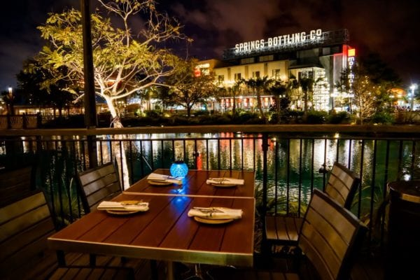 Frontera Cocina Review Table on the Outside Terrace