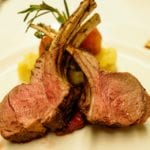 Palo Dinner Review Rack of Lamb