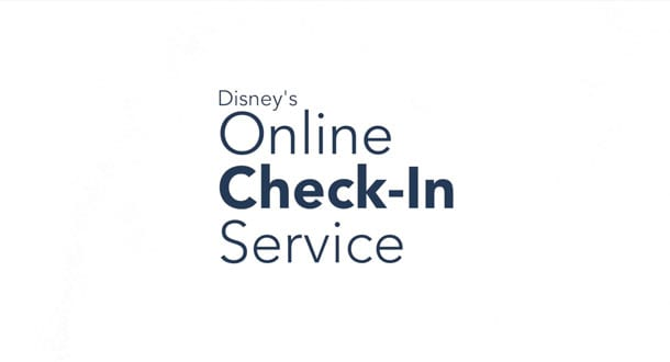My Disney Experience App Online Check-In for Walt Disney World Resorts
