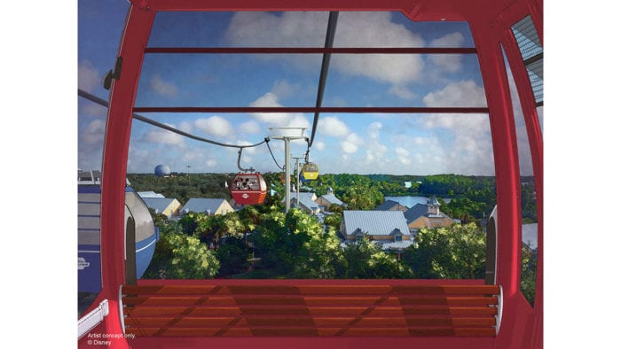 First Job Opening for Disney Skyliner Gondola
