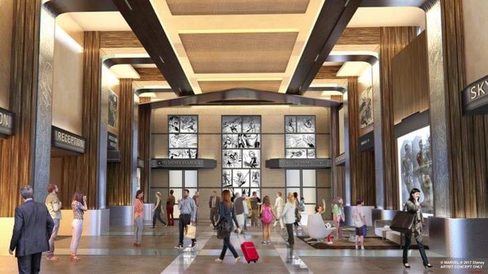 Hotel New York The Art of Marvel Disneyland Paris Announced