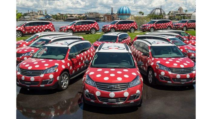 Disney's Minnie Van Service Starts this Month