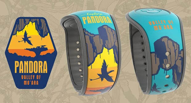 2 New Pandora The World of Avatar MagicBands Available at Windtraders