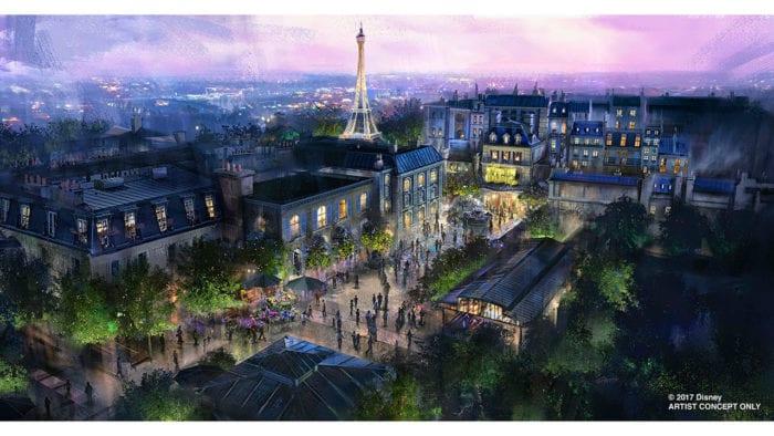 France expansion Epcot concept art