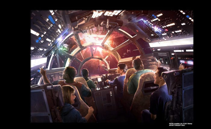 New Details about Millennium Falcon Ride in Star Wars Galaxy's Edge Including Random Missions