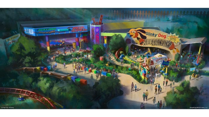 Toy Story Land Updates D23 Expo