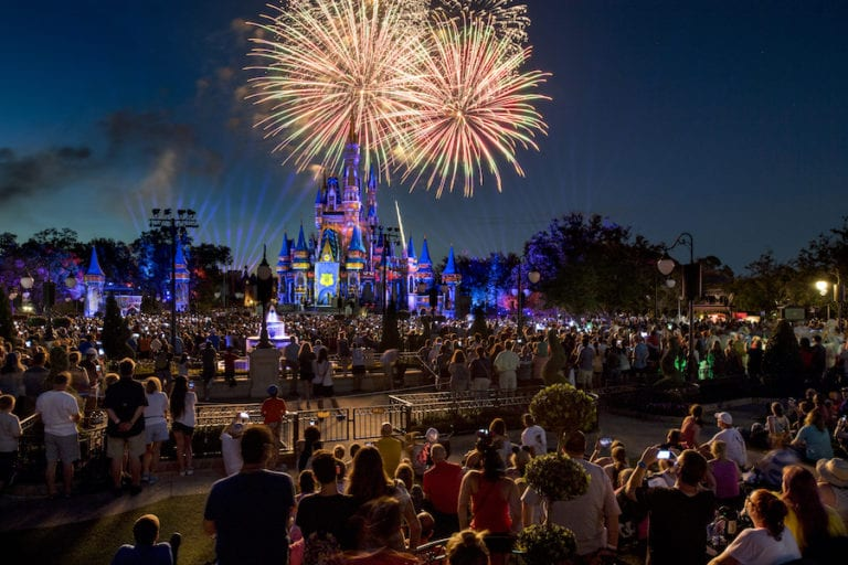 Happily Ever After Dessert Party view from Plaza Garden