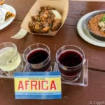 Africa Review: 2017 Epcot Food and Wine Festival all the food