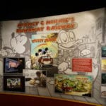 Mickey and Minnie's Runaway Railway Display