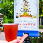 Pomegranate Beer Review 2017 Epcot Food and Wine Festival in the palm of your hand