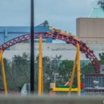 Slinky Dog Dash Coaster Testing