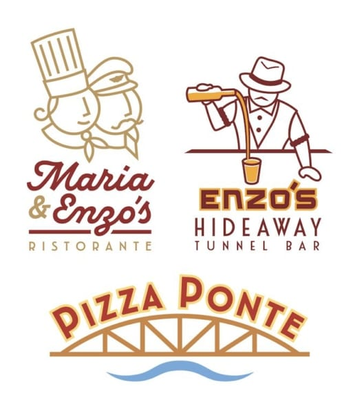 Maria & Enzo's, Enzo's Hideaway and Pizza Ponte Coming to Disney Springs