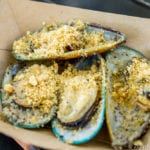 New Zealand Review 2017 Epcot Food and Wine Festival Steamed Green Lip Mussels