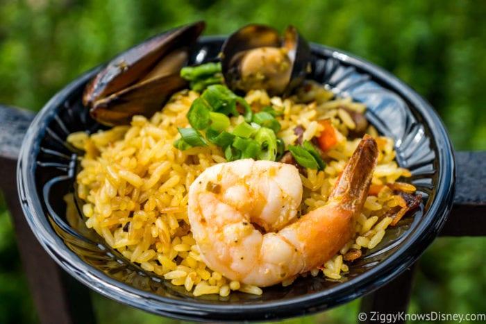Spain Epcot Food and Wine Festival Spanish paella