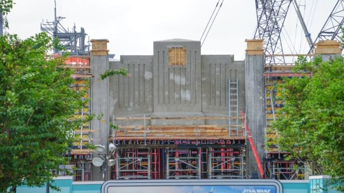 New Star Wars Galaxy's Edge Permits and Construction Update October 2017