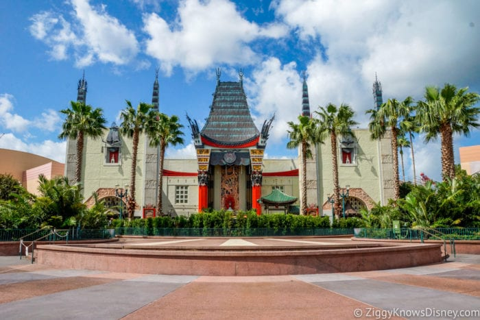 Hurricane Irma in Walt Disney World Chinese Theater Hollywood Studios