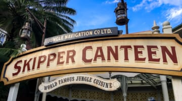 Skipper Canteen Review Entrance Sign