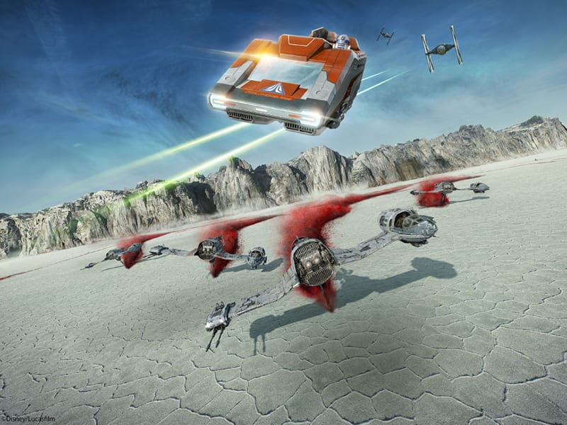 First Look: Star Tours The Adventures Continue New Missions Concept Art
