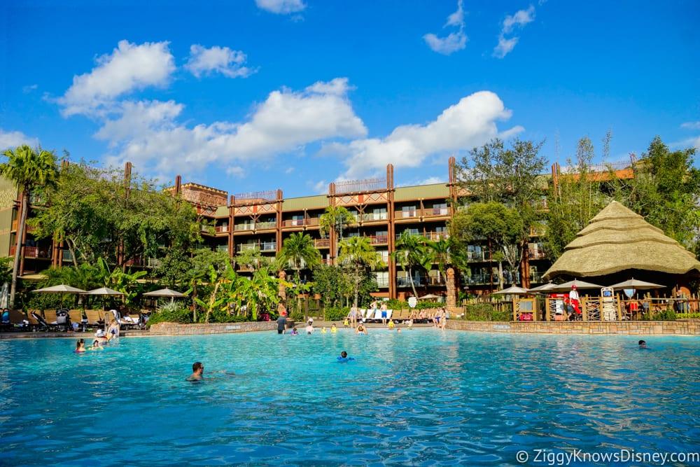 Walt Disney World Resort Pool Refurbishments in Early 2018