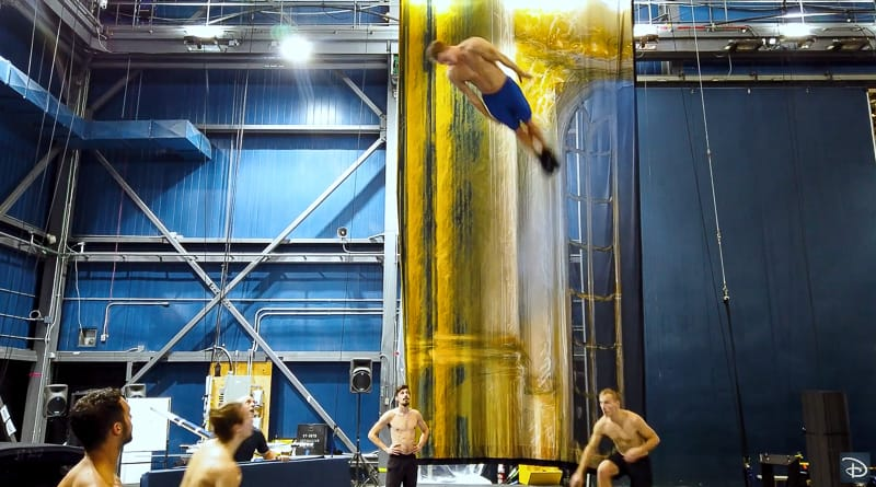behind the scenes look at new Cirque du Soleil animation show Disney Springs