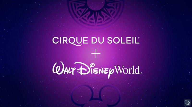 Behind he scenes Cirque du Soleil Disney Animation show