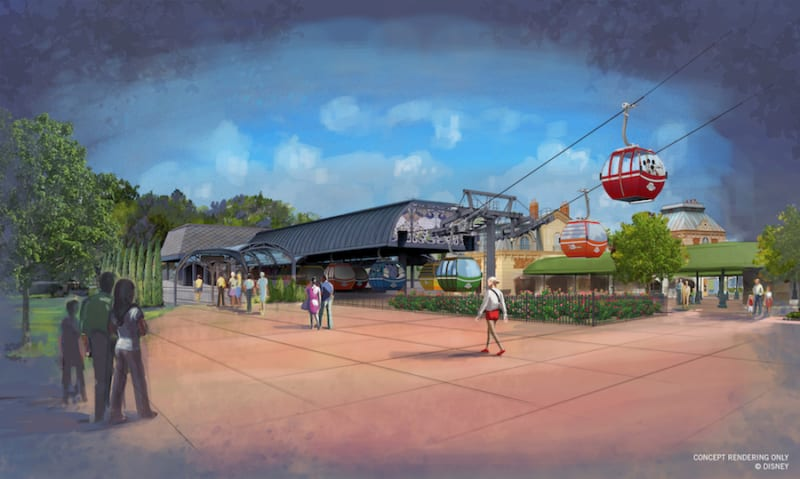 New Disney Skyliner Details – Air Conditioning and Expansion to Animal Kingdom Coming