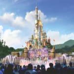 New Hong Kong Disneyland Castle