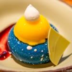 Satu'li Canteen Review Pandora blueberry cream cheese mousse