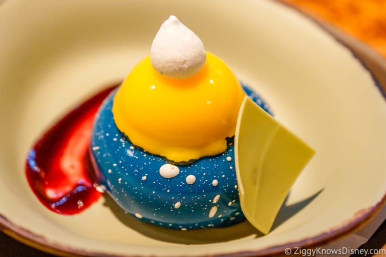 Satu'li Canteen Review Pandora blueberry cream cheese mousse