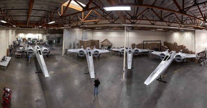 New Info Star Wars Galaxy's Edge X-Wings