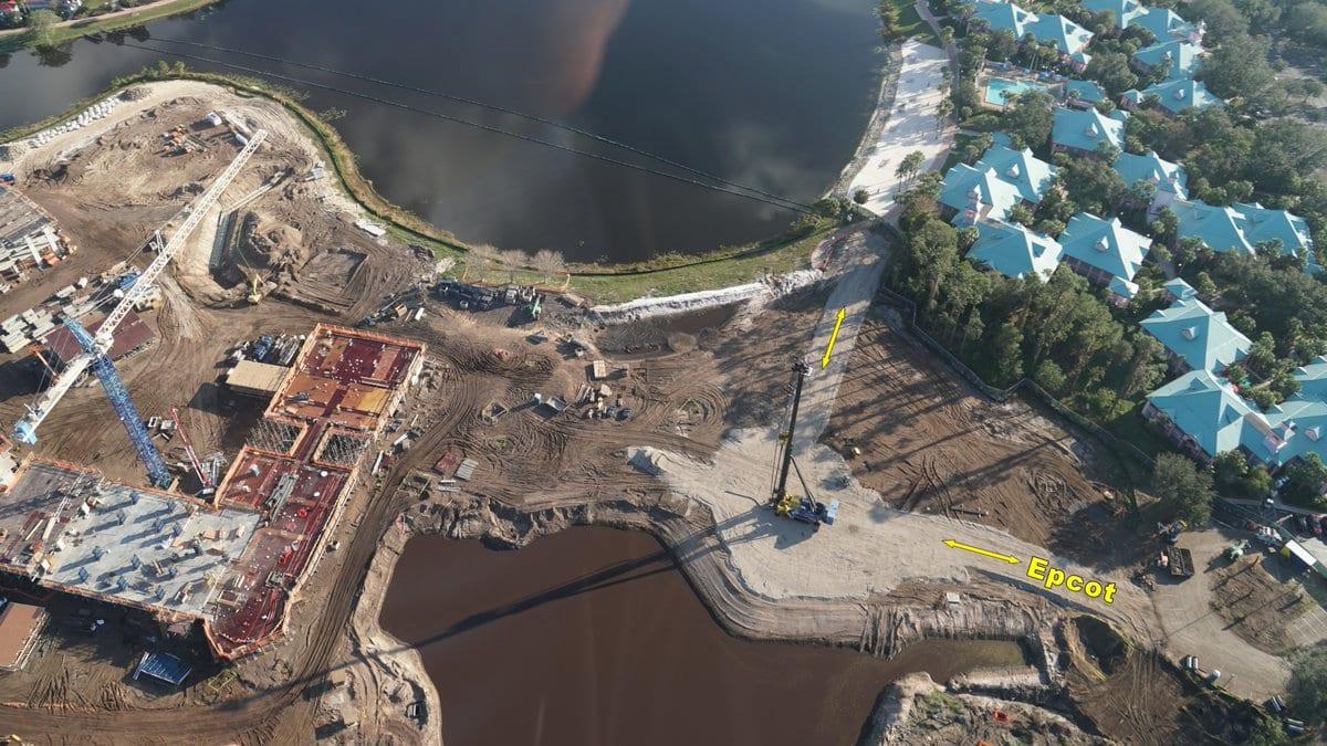 Photos Disney Skyliner Progress Around Walt Disney World